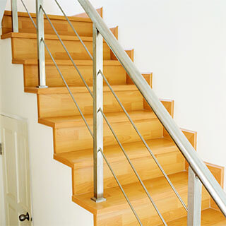 griffith stairs cable balusters