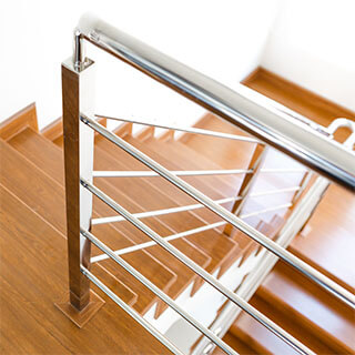 griffith stairs stainless steel balusters