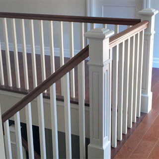 griffith stairs wood balusters