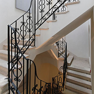 griffith stairs metal balustrade